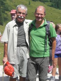 Bartl Mittner und Olaf Scholz