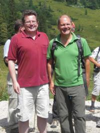 Roman Niederberger und Olaf Scholz